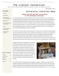 The Liaison Connection Issue 9 by University of Denver, University Libraries